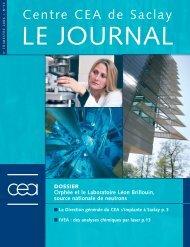 Journal de Saclay n°33 - CEA Saclay