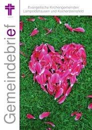 Gemeindebrief 1-2011 zum Ansehen bitte hier klicken