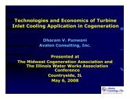 Technologies and Economics of Turbine Inlet Cooling Application in ...