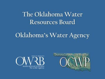Comprehensive Water Plan - Water Resources Board
