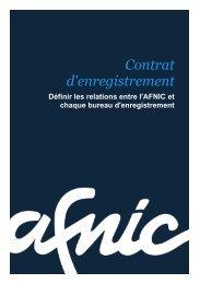 Article 6 – Droits / obligations de l'Office d'enregistrement - Afnic