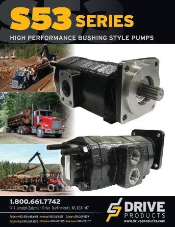 S53 Pump Brochure - Drive Products