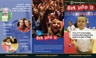Get Into It Brochure - Special Olympics Indiana