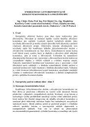 Energeticky a environmentálně efektivní konstrukce s ... - Ctislav Fiala