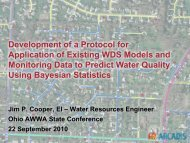Development of a Protocol for Application of Existing ... - Ohiowater.org