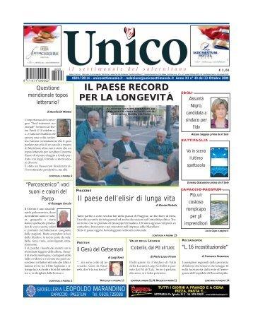 IL PAESE RECORD PER LA LONGEVITÀ - Unico
