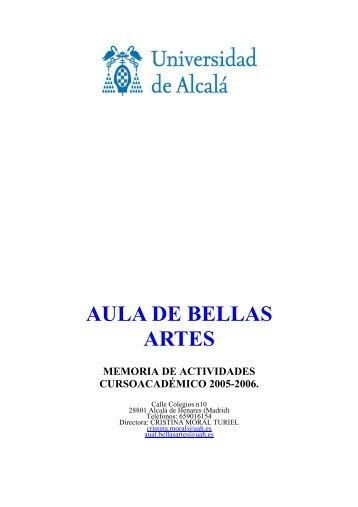 AULA DE BELLAS ARTES