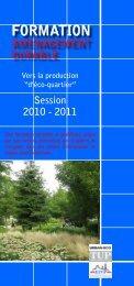 Le programme (pdf) - Ekopolis