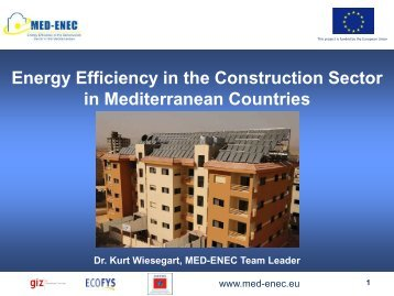 MED ENEC Portfolio of supporting activities
