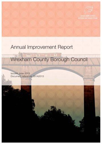 Wrexham County Borough Council Annual Improvement Report 2013