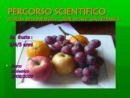La Frutta - barbescuola