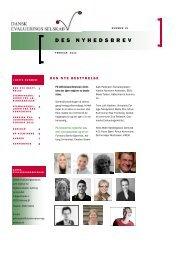 Nyhedsbrev 15. udgave, februar 2012 - Dansk Evalueringsselskab