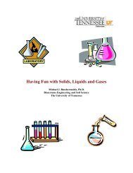 Having Fun with Solids, Liquids and Gases - Tennessee 4-H ...
