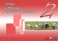 Normas de Protecção de Animais em Transporte - CNA