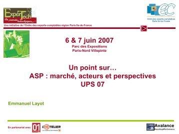 Avalance - Ordre des experts-comptables de Paris Ile-de-France