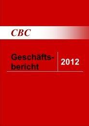 Geschäfts- bericht 2012 - CBC Marketing Research