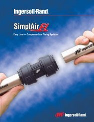 Compressed Air Piping Systems - Ingersoll Rand