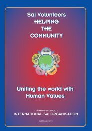 International Service Activities - Sai Australia