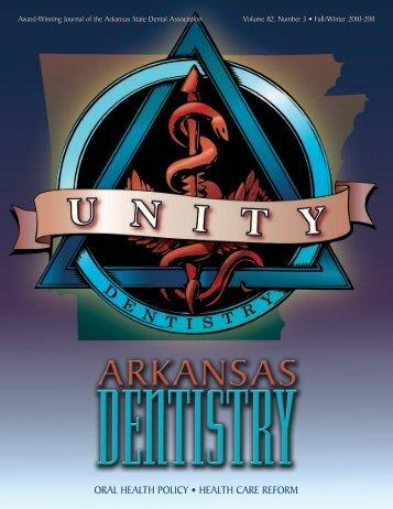 Oral HealtH POlicy • HealtH care refOrm - Arkansas State Dental ...