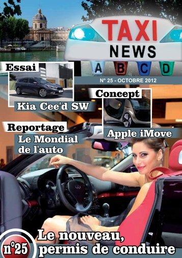 Le nouveau, permis de conduire - Taxinews.fr