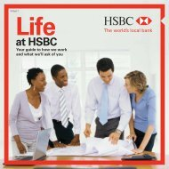 YOUR GUIDE TO MY CHOICE - HSBC careers site
