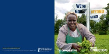 Beyond Fairtrade booklet - The Co-operative