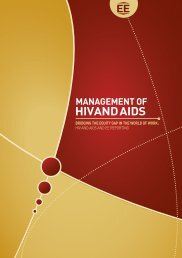 Useful Document- Management of HIV and AIDS: Bridging the ...