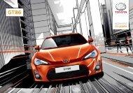 GT-86 продуктов каталог - Toyota