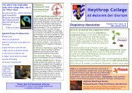 Volume 1112 - Issue 14 26th January 2012 - Heythrop College