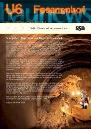 Fasanenhof Bau News Ausgabe 2/2008
