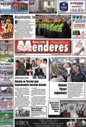 02 Ekim tarihli Küçükmenderes Gazetesi