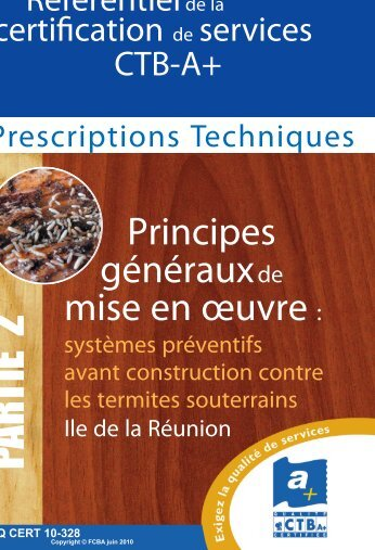 PARTIE 2 - CTBA+ - Traitement et protection du bois