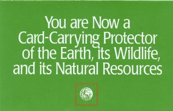 Environmental Defense Card Insert - Aredpenguin.com