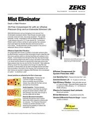 Mist Eliminator - CH Reed Inc.