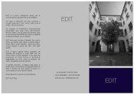 BROCHURE EDIT - Event Report