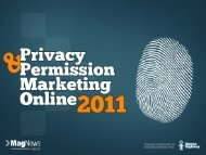 MagNews Privacy & Permission Marketing - Event Report