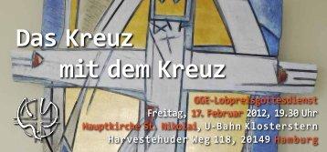 Das Kreuz mit dem Kreuz - Gott liebt Hamburg