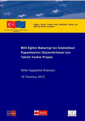 Türkçe - Strateji Geliştirme Başkanlığı - Milli Eğitim Bakanlığı