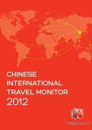 Chinese International Travel Monitor (CITM) - Hotels.com Press Room