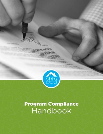 Program Compliance Handbook - Ohio Housing Finance Agency