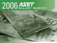ASET Salary Survey Report 2006
