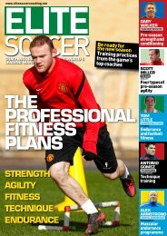 THE PROFESSIONAL FITNESS PLANS - Thunder Soccer Club