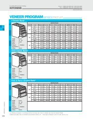 Kitchen pages 2.52 & 2.53 - Euro-Rite Cabinets