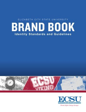 Identity Standards and Publications Guide - Elizabeth City State ...