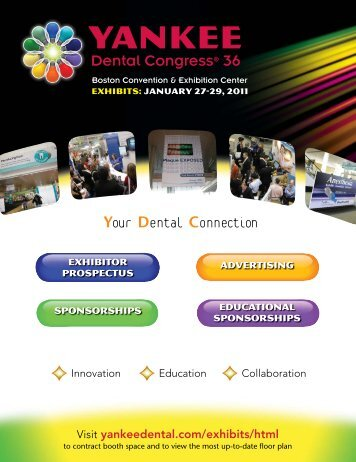 YDC35 exhibitor advertising brochure.indd - Yankee Dental Congress