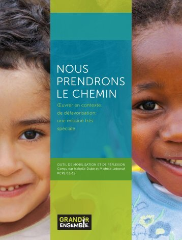 Nous preNdroNs le chemiN - Rcpeqc.org