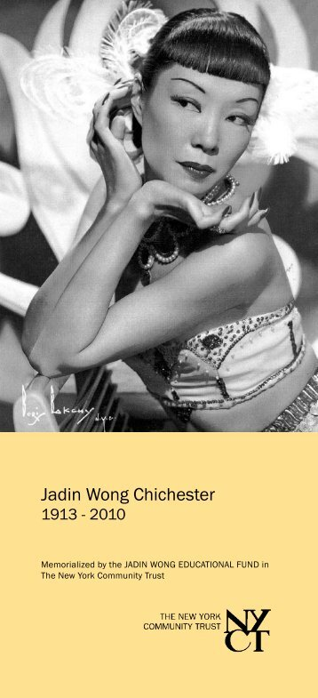 Jadin Wong Chichester - The New York Community Trust