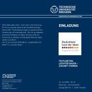 Flyer - BauBlog - Technische Universität Dresden