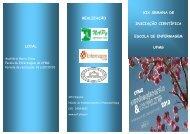 programação - Escola de Enfermagem - UFMG