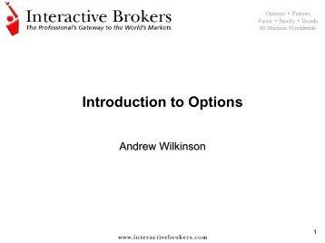 Options Combinations & Strategies - Interactive Brokers